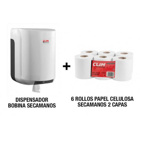 pack dispensador y papel